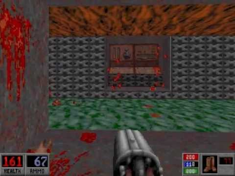 Let's Play Blood DosBox) (Well Done) E1M8 House of Horror