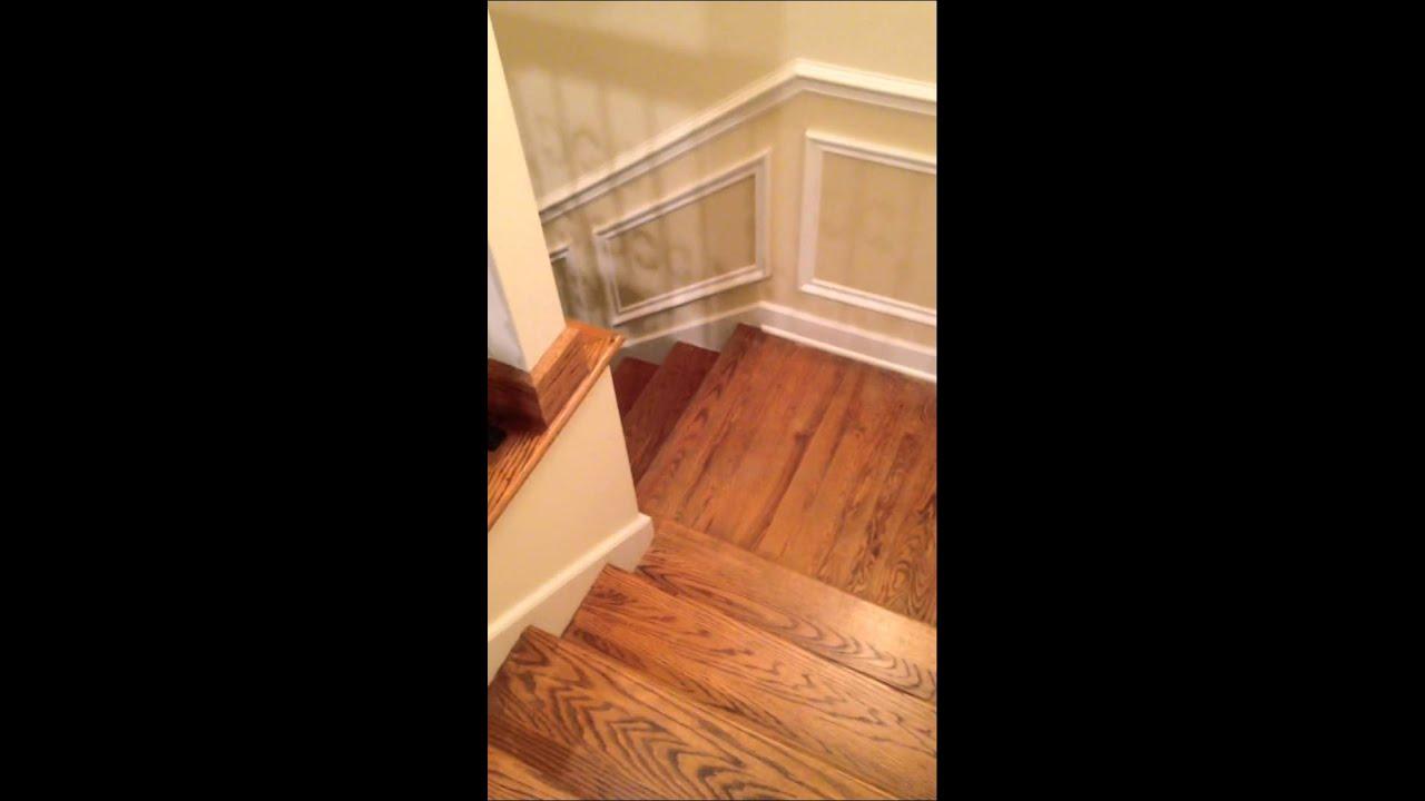 escalier au sous sol youtube. Black Bedroom Furniture Sets. Home Design Ideas