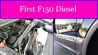 First look at the new F150 Powerstroke Diesel