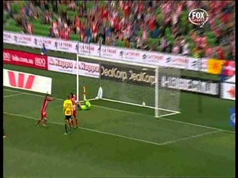 Jonatan Germano Goal Melbourne Heart Vs Wellington Phoenix