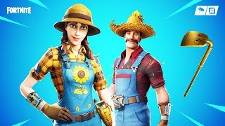 The New SEASON 8 SKINS in Fortnite..