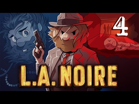 L.A. Noire | Let's Play Ep. 4: The Postman Always Rings Twice | Super Beard Bros.