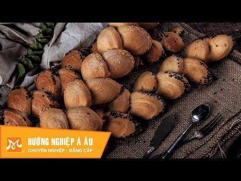 Học làm bánh mì - Cách làm bánh mì bông lúa ngon độc đáo