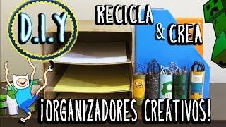 DIY: ORGANIZADOR | RECICLA Thumbnail