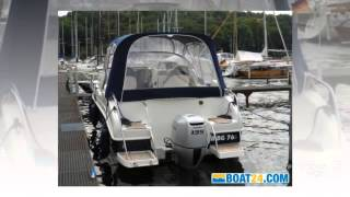 Aqualine 750 cruiser power boat, cabin boat year - 2012