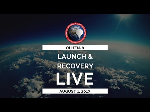 OLHZN-8 🔴Live Launch Operations | High Altitude Weather Balloon | Part 1 of 2
