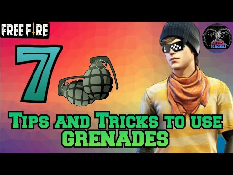 Tips and tricks to use GRENADE in FREE FIRE || GARENA FREE FIRE