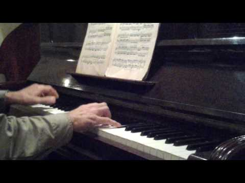 J.S. Bach two parts invention N8 in pythagorean tuning