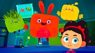 Cutie Cubies  - First Contact - Funny cartoon for kids Kedoo ToonsTV