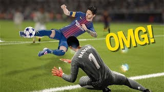 FIFA 18 TOP 10 BEST GOALS! Ft. SCORPION KICKS, RABONA ,NUTMEGS,