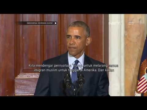 Larangan Umat Muslim Memasuki Negara Amerika Dibantah Obama Mp3