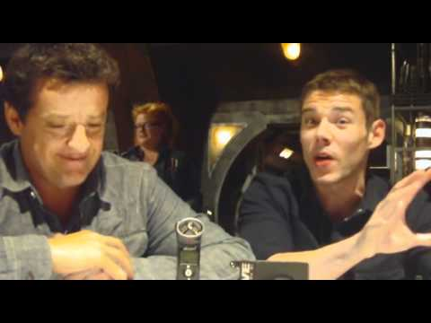 Stargate Universe  Brian J. Smith and Louis Ferreira s