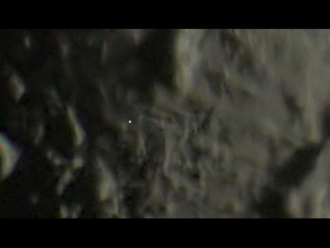 Fast-moving lights on the Moon!