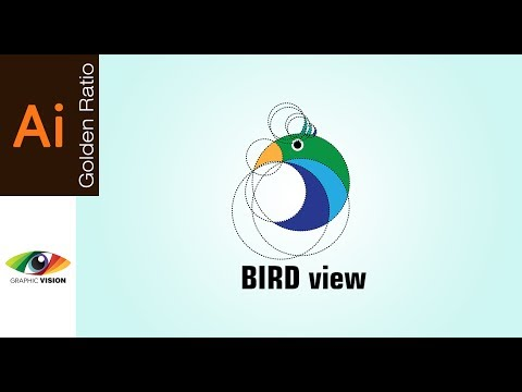 Adobe Illustrator Tutorial Logo Design using Golden Ratio | Bird View thumbnail