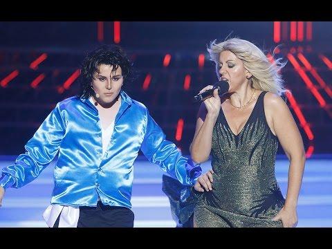 Llum Barrera y Unax imitan a Michael Jackson y Britney Spears en Tu cara me suena Mini Videos De Viajes
