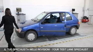 Vamag complete test line for cars. how to perform and manage all the tests requested by italian legislation.la linea di revisione auto secondo vamag. come fa...