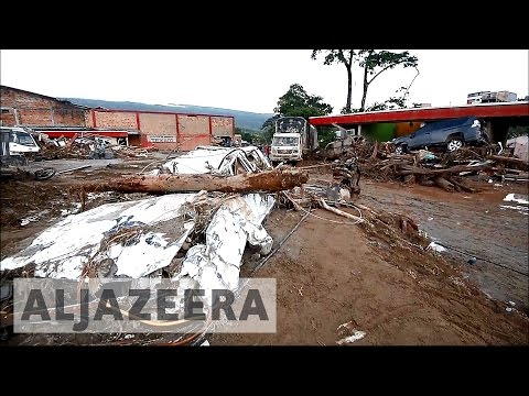 Colombia mudslides death toll climbs