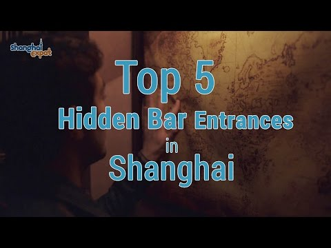 Top 5 Hidden Speakeasy Entrances in Shanghai
