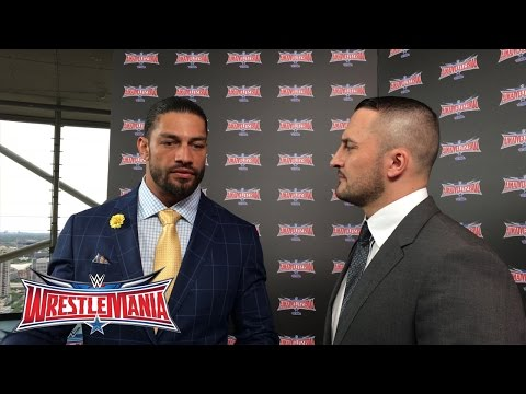 Roman Reigns im Interview mit Sebastian Hackl