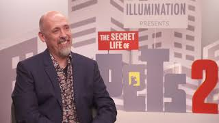 The Secret Life Of Pets 2  || Chris Renaud  Generic Junket Interview || #SocialNews.XYZ