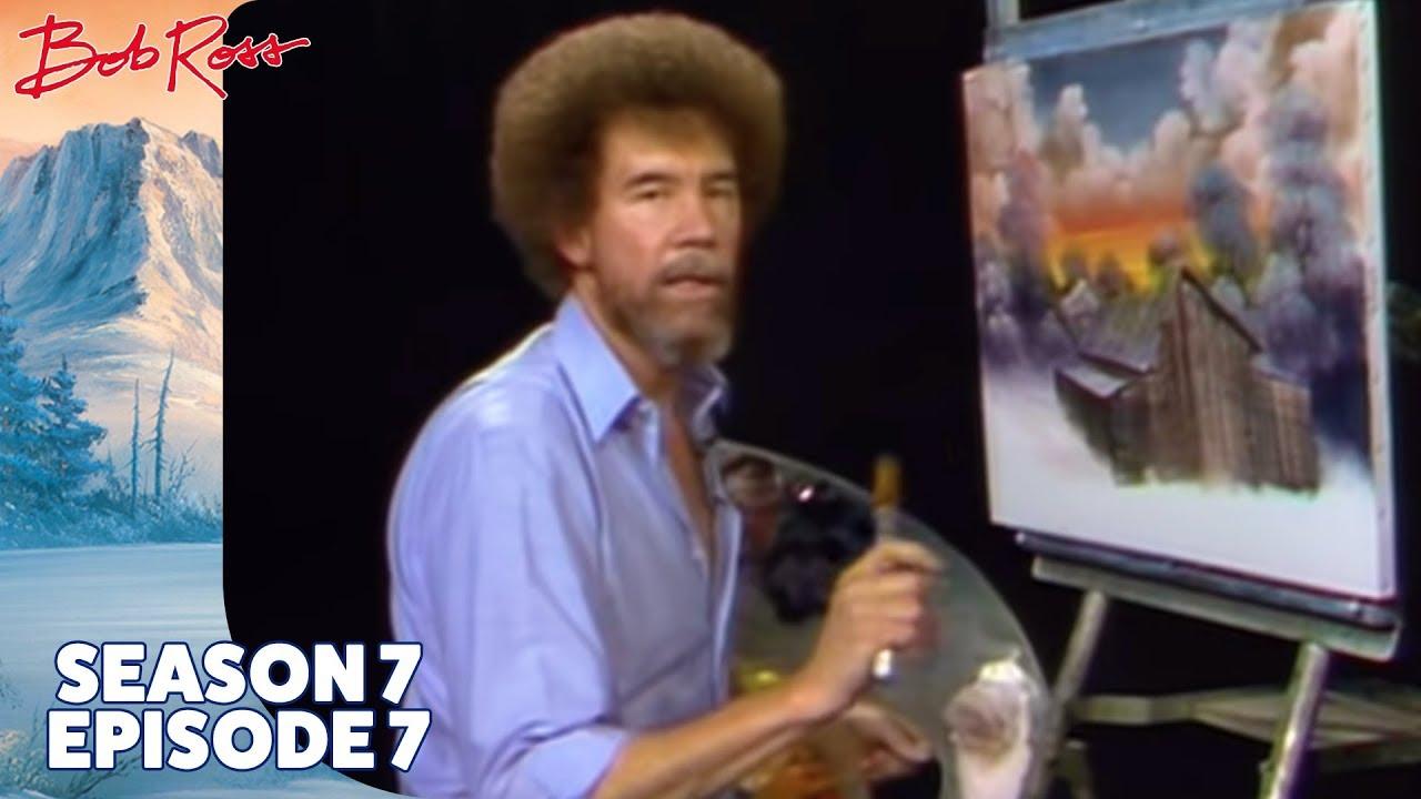 Download Bob Ross - Barn at Sunset (Season 7 Episode 7)