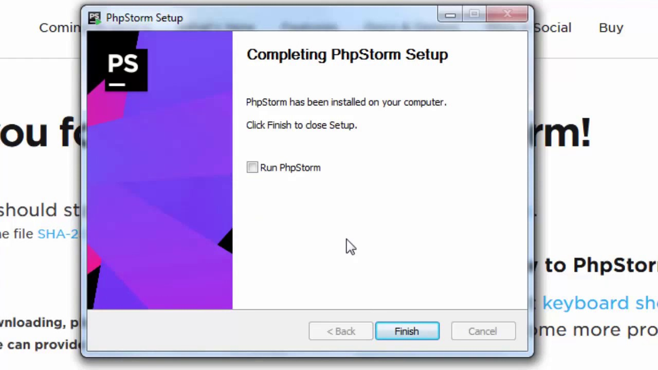 How to Download and Install PhpStorm 2017 2 4 on windows