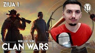 🔴 WoT   Clan Wars [RO] DELAY 5 min