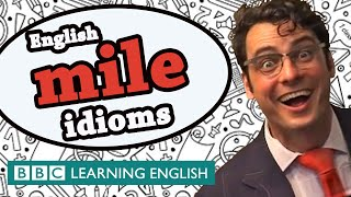 Learn three idioms that include the word mile thumbnail