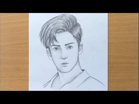 boy-face-pencil-sketch-/-how-to-draw-a-boy-step-by-step