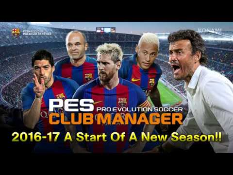 PES CLUB MANAGER (2016-17 Season update) English