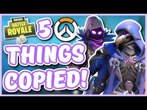 Overwatch - 5 THINGS FORTNITE COPIED FROM OVERWATCH