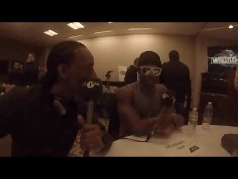 Awkward Interview with Velveteen Dream