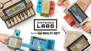 Nintendo Labo Multi-Set | Rezension (Review / Test) | LowRez HD | deutsch