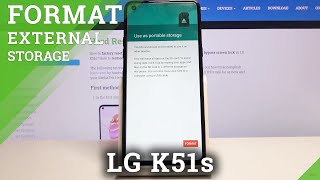 How to Format SD Card in LG K51s – Erase Memory Card