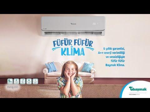 Baymak Yeni Reklam Filmi Füfür Füfür Klima/ Füfürcük