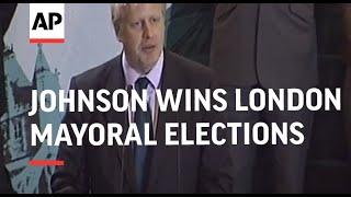 Conservative Boris Johnson wins London Mayoral elex