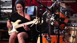 """Pink Panther Theme"" bass cover feat. Tanya O"