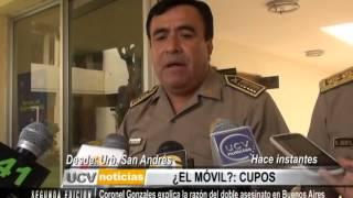 La razón del doble asesinato en Buenos Aires