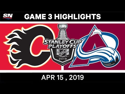 Nhl Highlights Flames Vs Avalanche Game 3 April 15