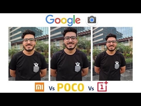 Google Camera Comparison of Mi A2 vs Poco F1 vs OnePlus 6T: You'll be surprised! | Night Sight