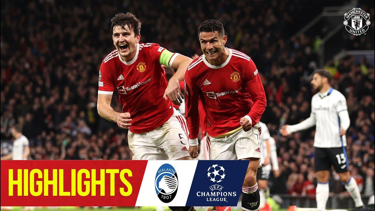 Download Ronaldo seals thrilling comeback win | Manchester United 3-2 Atalanta | UEFA Champions League