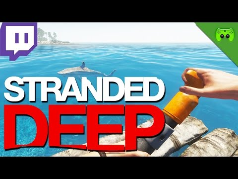 #PietStream vom 07.03.2015 Teil 2 «» Stranded Deep | Live-Mitschnitt Full HD