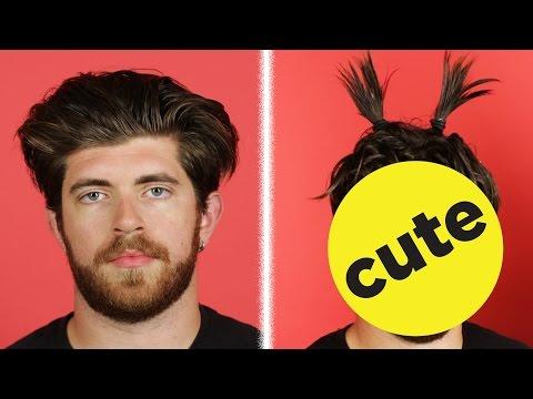 Girls Try Styling Guys' Hair