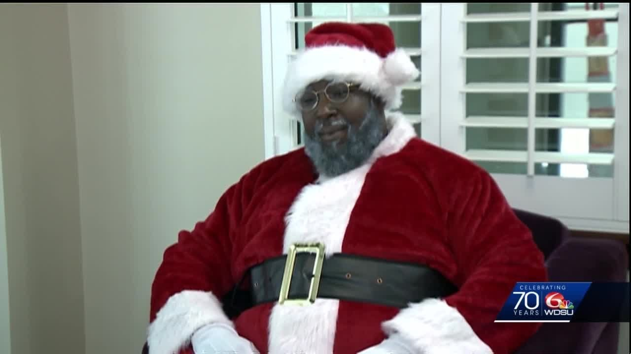 Teacher inspired to fill in for 7th Ward Santa after he canceled his holiday appearance