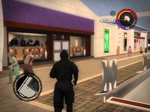 How to get ninja suit in Saints Row 2