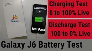 Samsung galaxy J6 Infinity 2018 Battery Test | Charging and Discharging Test in Hindi