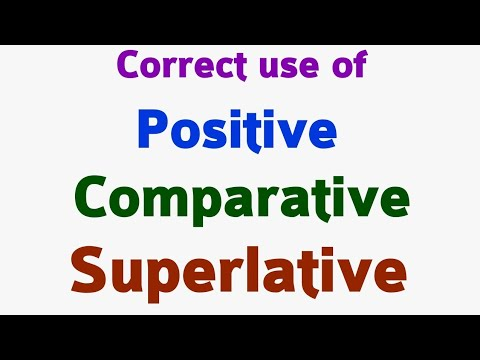 Adjectives | Positive degree | Comparative degree | Superlative degree .