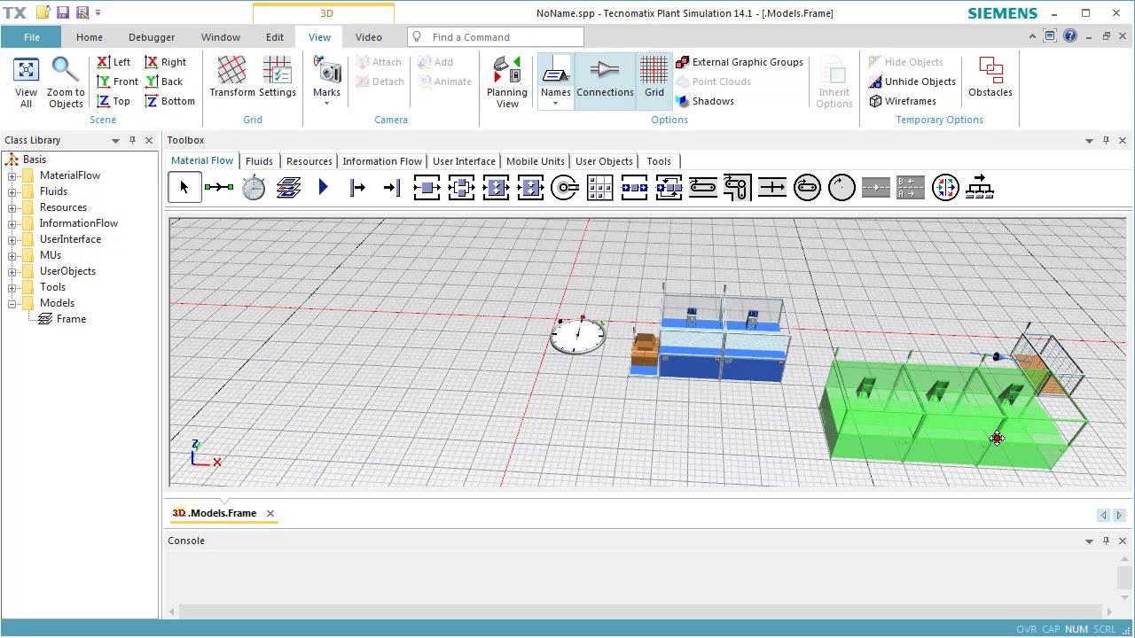 Plant Simulation 3D: Basics