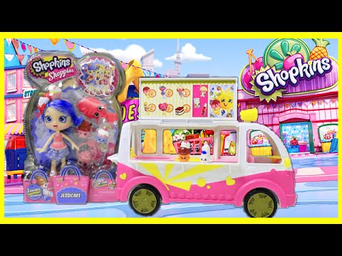 New Shopkins Shopettes Jessicake Doll Opening And Toy Review