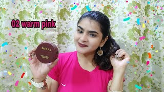 Lakme rose powder review | shade warm pink | Affordable setting powder India | Ria Das |
